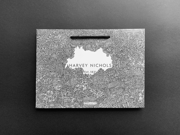 'Harvey Nichols Icon Bag' (2020) SOLD