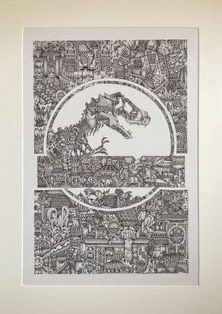 'Jurassic Park' (2014) £6,900