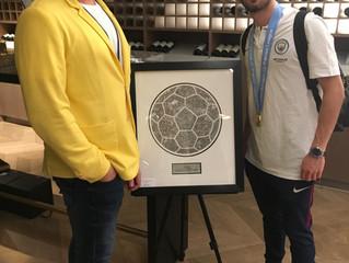 'Have a Ball' Thomas Wolski art showcase at 'The Tunnel Club'Manchester City, Etihad