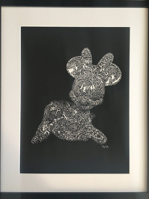 'Mini Minnie' (2019) Giclée Print edition of 10