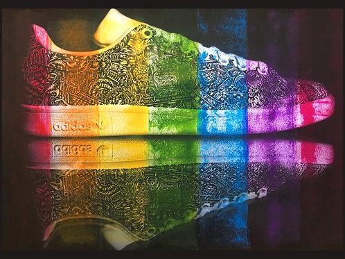 'Running on a Rainbow' Giclée print edition of 10