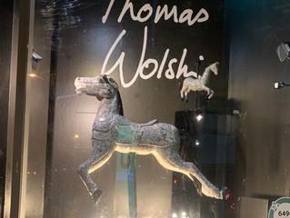 Thomas Wolski, Harvey Nichols and wild in art window collaboration