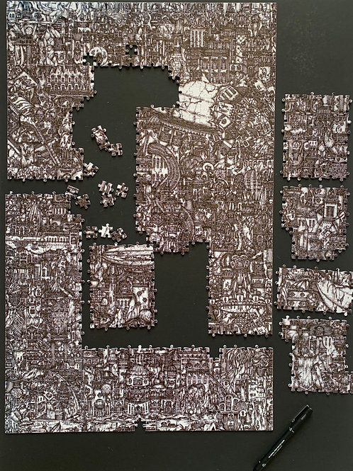 Jigsaw this coming didn't you? 1000pc Jigsaw