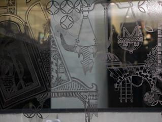 London's most valuable window (M Restaurants Threadneedle walk)