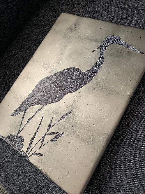Silver Leaf Crane