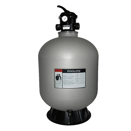 """11700 26"""" Blow Molded Sand Filter, 6 Way Valve"""