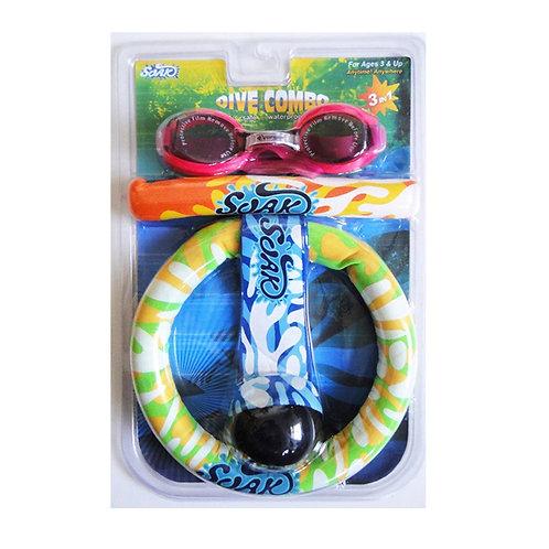 AX0103-C Dive Combo C (Dive Combo, Goggles, Mix Dive Assortments)