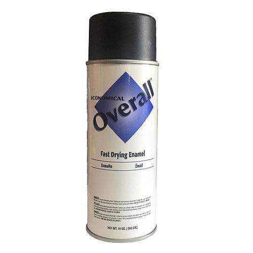 799-002 Spray Paint, GP Flat Blk,10oz..6/case