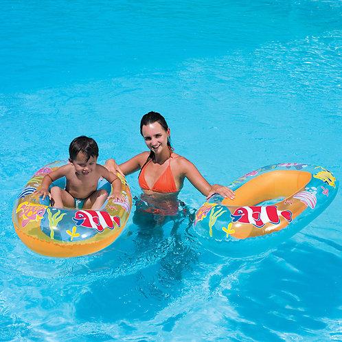 "34036B 44""x 28"" Sea Set Children's Raft"