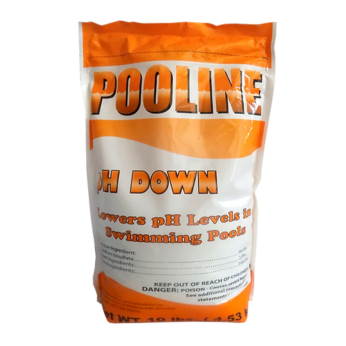 11906  Sodium Bisulfate in 10# Bags, Brand Name: Pooline pH Down