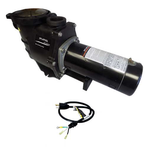 12755TL Two Speed Pump of 1.5HP/230V with 3' Twist Lock