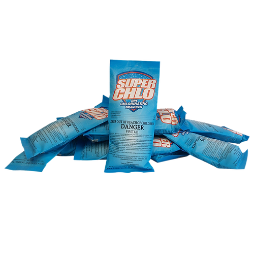 11919 Calcium Hypochlorite (Shock) in 1# Bags, Brand Name: Superchlo Dry Chlorin
