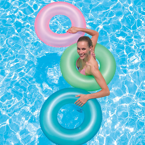"""36024B 30"""" Frosted Neon Swim Ring"""