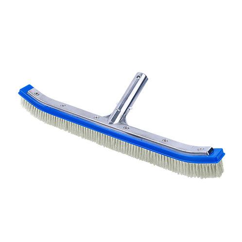 "11025N 18"" Brush, Alu. Back, Nylon Bristles"