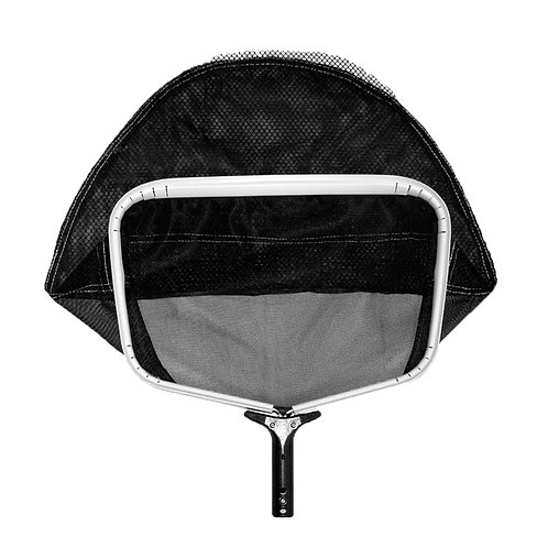 "11524TS Service Grade Heavy Duty Leaf Rake, 18""X12""X(Net) 13"", Black Soft Net on"