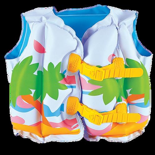 """32069EU 17""""x 21"""" Tropical Swim Vest"""
