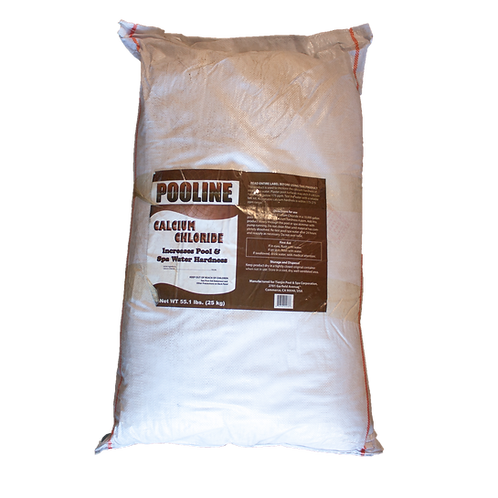 11832 Calcium Chloride in 55.12# Bags, Brand Name: Pooline Hardness Increaser