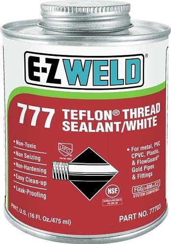 77702 TEFLON THREAD SEALANT PASTE LIKE-WHITE 1/2 PINT