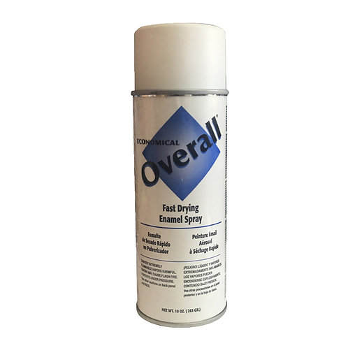 799-004 Spray Paint, Flat White,10oz..6/case