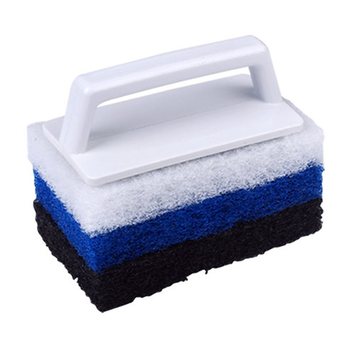 11077S Super Scrubber with 3 Different Pads