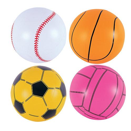 """31004B 16"""" Sports Ball Beach Balls"""