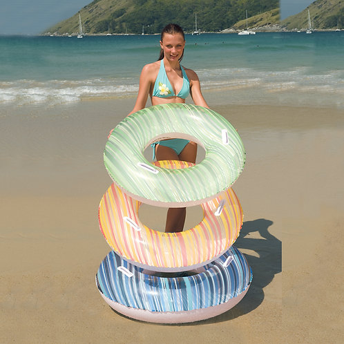 "36010B 36"" Striped Swim Tube"