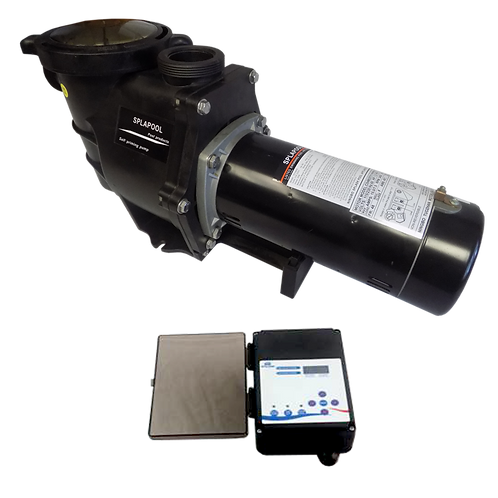 12754C Two Speed Pump for ING Pools, 1 HP/115 V with Controller