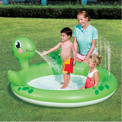 "53042B 71""x60""x26"" Interactive Turtle Play Pool"