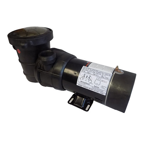 12726 Two Speed Pump for ABG Pools, 1 HP
