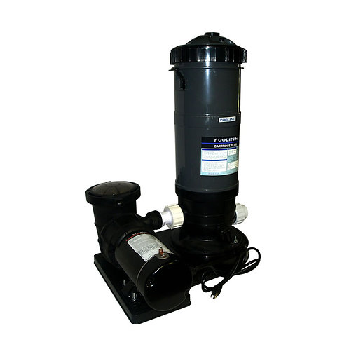 11512-12729 Filtration System 90 SQFT Cartridge Filter/1.0 HP ABG Pump System