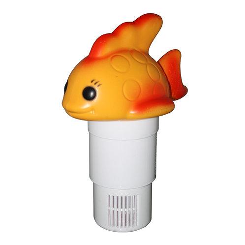 11538 Gold Fish Chlorine Dispenser, Folded