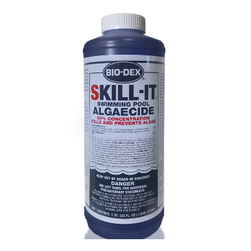 SK132, 1 Q. Skill-It Swimming Pool Algaecide