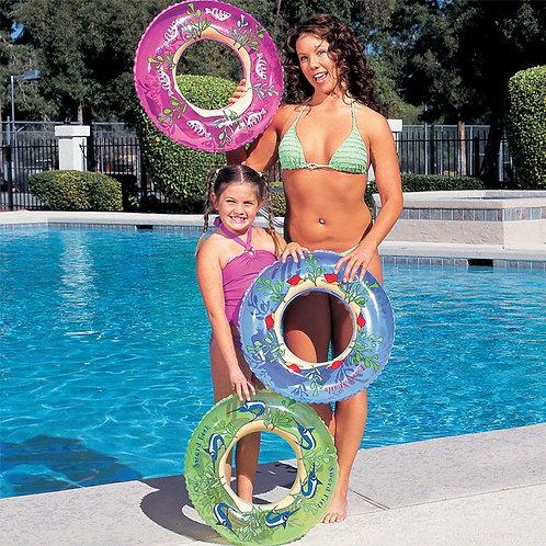 "36013B 22"" Designer Swim Ring"