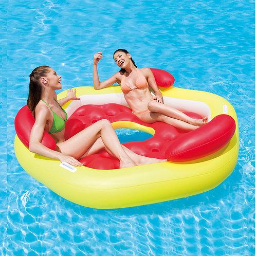 "43073EU 77""x16"" Designer Pool Lounge"