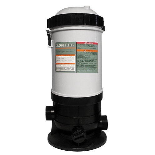 11177 Auto (in-line) Chlorinator with Flow Control Valve, 50 lb Capacity..