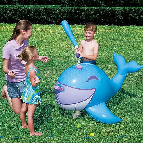 "53045B 49""x37""x24"" Interactive Whale Ball-Pop Sprinkler"