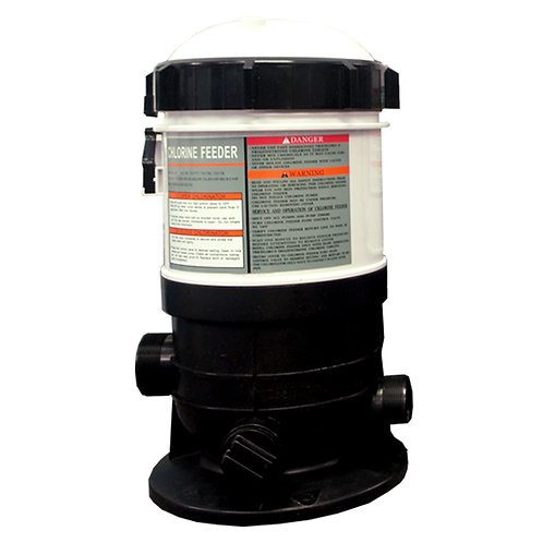 11176 Auto (in-line) Chlorinator with Flow Control Valve, 37 lb Capacity