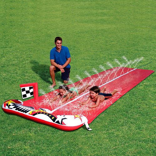 52079B 16' Raceway Water Slide