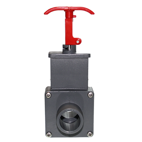 """11219-10 Two Way Valve, 1 1/2"""" Male Threaded and 1 1/2"""" Barbed"""