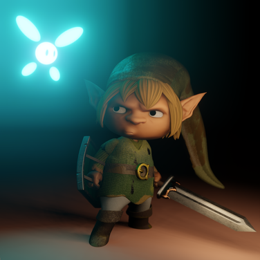 Grumpy Link design by Matthew.s.Armstrong