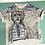 Thumbnail: Hand Painted Dog T-Shirt