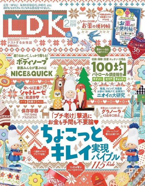 晋遊舎から発売されました『LDK』に代表の木幡と菊池が掲載さ れています
