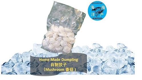 Home Made Dumpling-Mushroom (自制饺子-香菇)