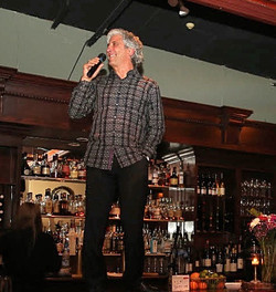 David addressing guests in Portland