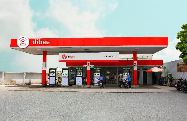 Dibee gas station