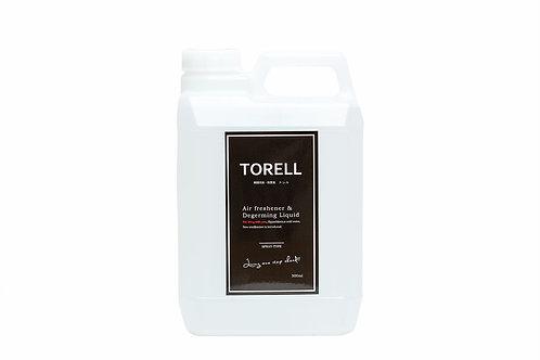瞬間消臭・除菌液TORELL / 4L / 業務用角型ボトル