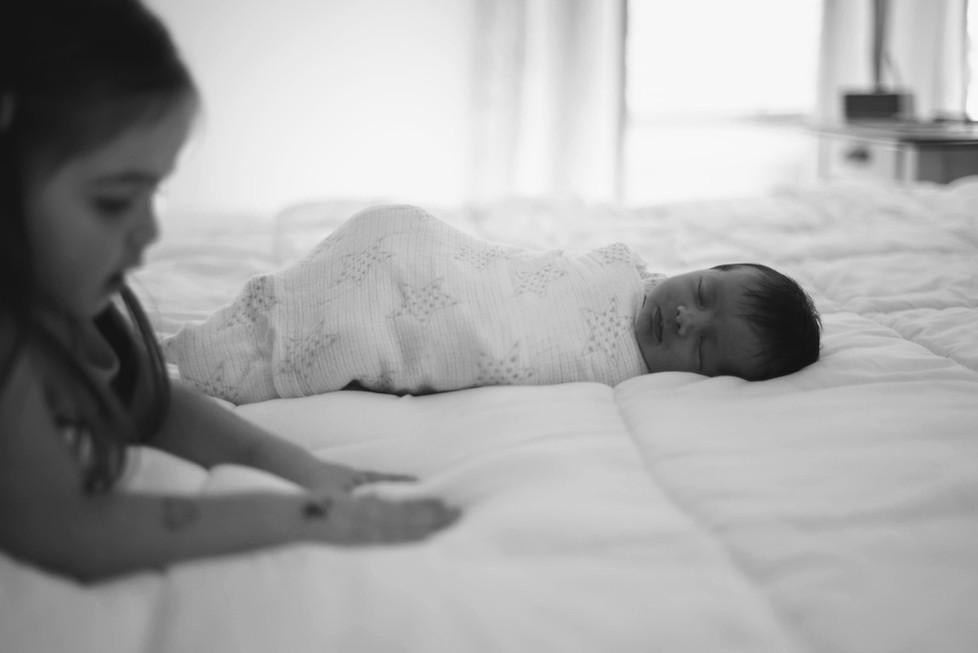 newborn baby photography baltimore maryland siblings