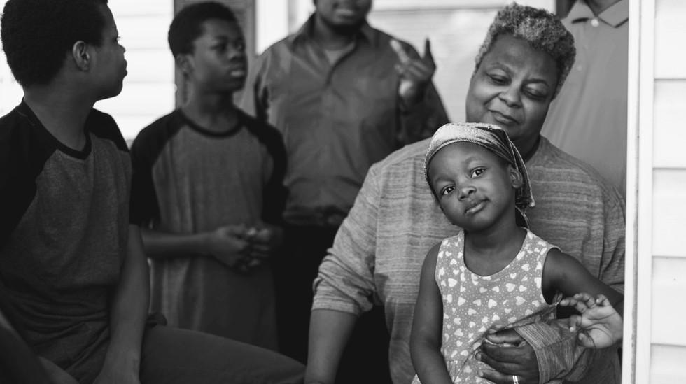 family photography baltimore black white