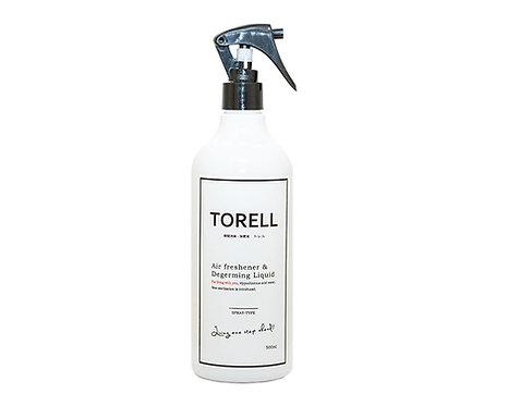 瞬間消臭・除菌液TORELL / 500ml / スプレーボトル