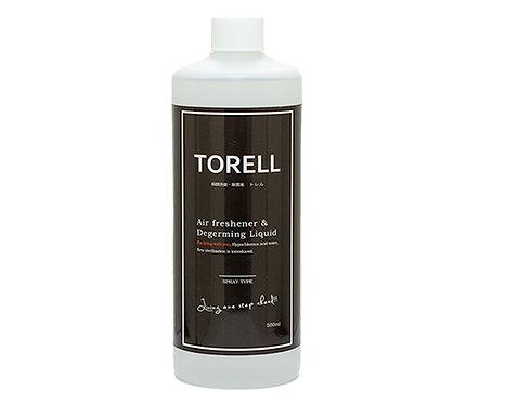 瞬間消臭・除菌液TORELL / 500ml / 詰め替え用ボトル